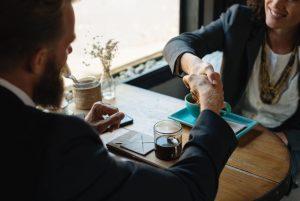 handshake, business, meeting